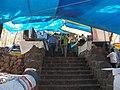 Elephanta Island steps are lined with shops (4175220737).jpg