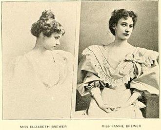 David Josiah Brewer - Elizabeth and Fannie Brewer, daughters of David Josiah Brewer