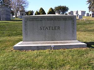 Ellsworth Milton Statler - The grave of Ellsworth Statler in Kensico Cemetery