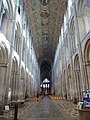 Ely Cathedral, nave from the west end - geograph.org.uk - 1771138.jpg