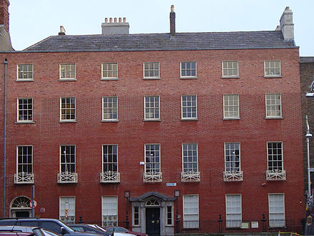 Ely House on Ely Place Ely House, 8 Ely Place, Dublin, Ireland.jpg