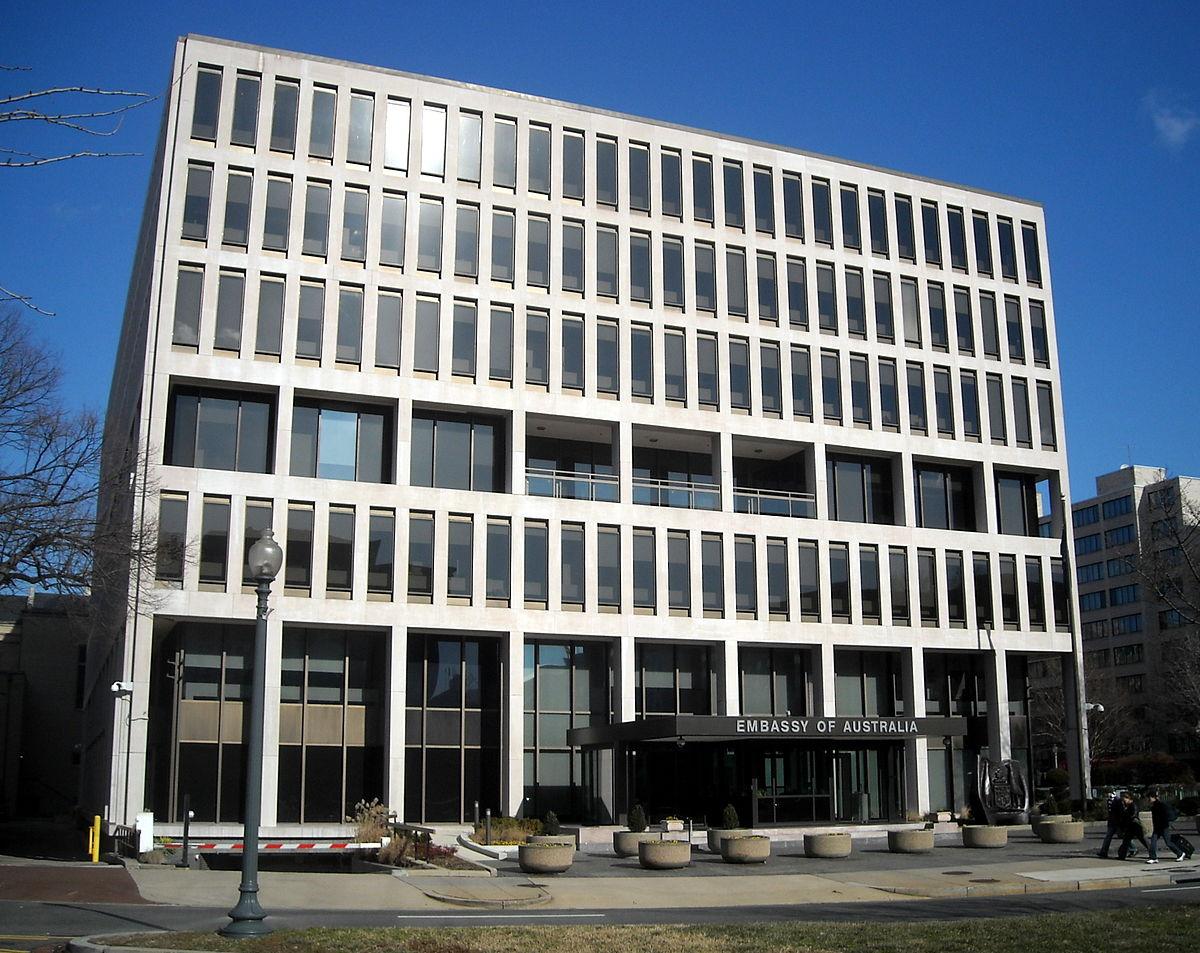 Embassy of Australia, Washington, D C  - Wikipedia