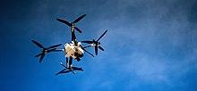 Embry-Riddle Aeronautical University Prescott Drone in Flight.jpg