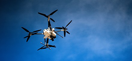Embry-Riddle Aeronautical University Prescott Drone in Flight.jpg