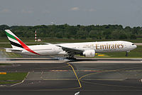 A6-ECH - B77W - Emirates