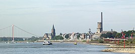 Emmerich am Rhein as seen from the east