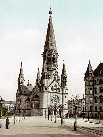 Charlottenburg - Kaiser Wilhelm Memorial Church, about 1900