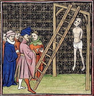 Enguerrand de Marigny - Image: Enguerrand de Marigny death
