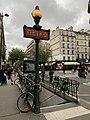 Entrée Station Métro Goncourt Paris 4.jpg