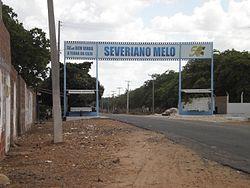 Entrada de Severiano Melo (RN).JPG