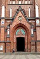 Entrance to Saint Florian's Cathedral, Warsaw.jpg