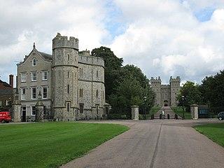 Home Park, Windsor Royal park on the eastern side of Windsor Castle