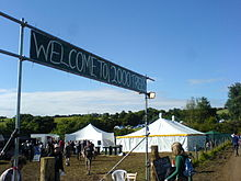 Entrance to the 2008 Two Thousand Trees Festival (2008).jpg
