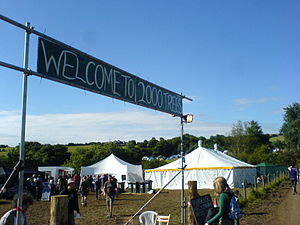 Two Thousand Trees Festival - Entrance to the 2008 festival