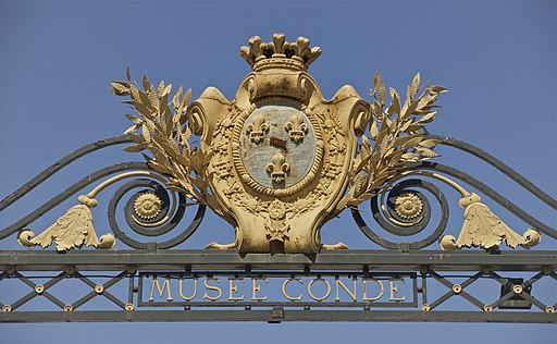 Entry Musée Condé Chantilly