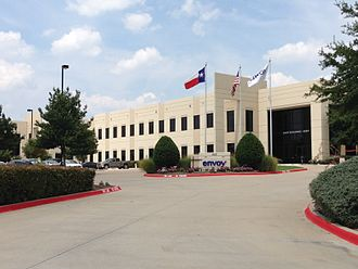 Envoy Air - The headquarters for Envoy Air located at 4301 Regent Blvd. in Irving, TX. (2014)