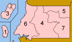 Equatorial Guinea provinces numbered.png