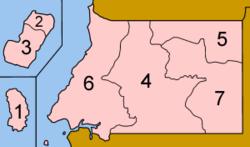 Οι επαρχίες της Ισημερινής Γουινέας
