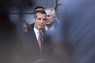 Shooting of Ezell Ford - Los Angeles mayor Eric Garcetti in April 2014