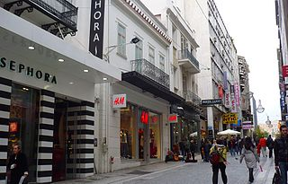 Ermou Street (Athens) street in Athens Municipality, Greece