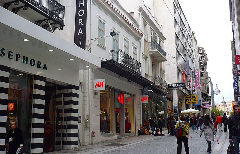 Dicas de compras em lojas de luxo em Atenas