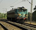 Erode shed WAG 7 loco numbered 27459.jpg