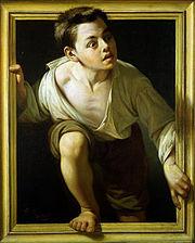 Escaping Criticism by Pere Borrell del Caso, 1874
