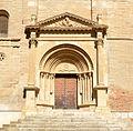 Escola de Lleida. Tamarit de Llitera, Osca, Portada romànica de Santa Maria (SiT-132507).jpg