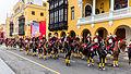 Escolta presidencial, Plaza de Armas, Lima, Perú, 2015-07-28, DD 26.JPG