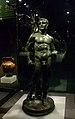 Estàtua romana d'Hèrcules de bronze, exposició La Bellesa del Cos, MARQ.JPG