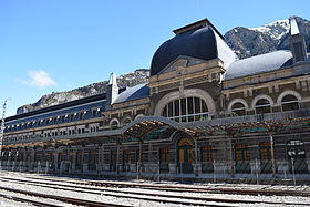 Image illustrative de l'article Gare internationale de Canfranc
