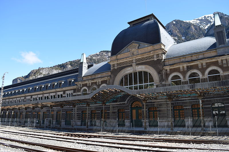 9)  Canfranc Rail Station, Spain