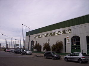 Estadio Socios Fundadores - The outside of the arena