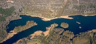 Pirita (river) - Image: Estonia Aerial 1