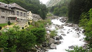 Cauterets - The Etablissement Thermale Des Griffon near Cauterets