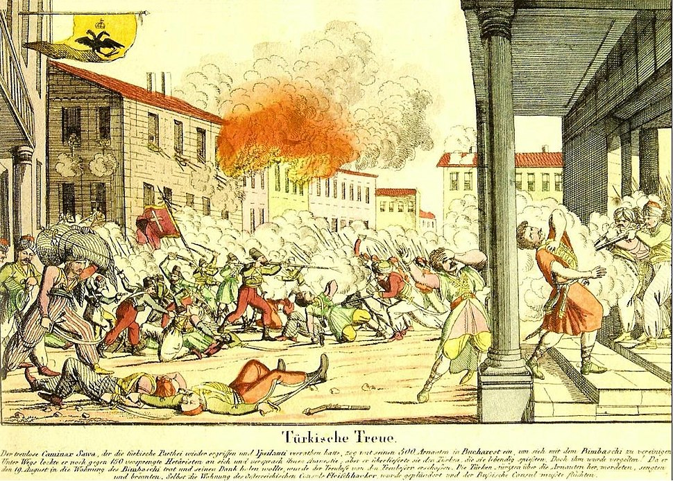 Eteria - Turkische Treue, 1821