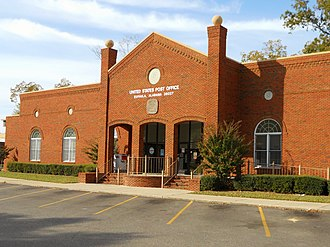 Eufaula, Alabama - Image: Eufaula Alabama Post Office 36027