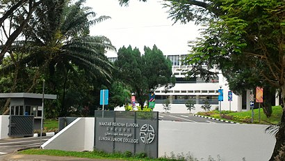 How to get to Eunoia Junior College in Singapore by Bus or