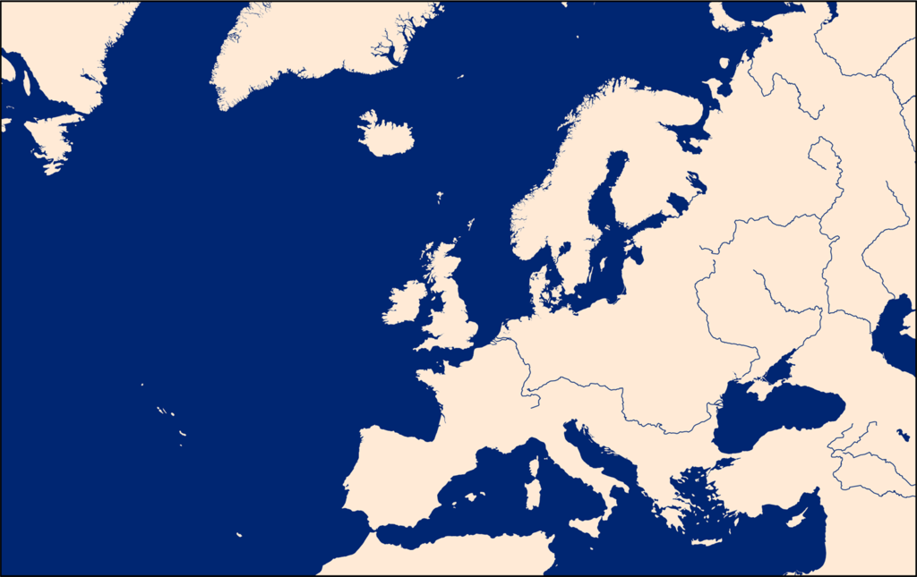 File Europe And North Atlantic Map Png Wikimedia Commons