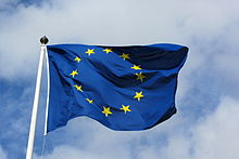 Photo du drapeau de l'UE.
