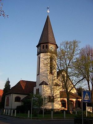 Zeilsheim - Image: Evangelische Kirche Zeilsheim Kolonie