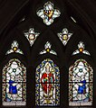 Exeter Cathedral, Stained glass window (36054529144).jpg