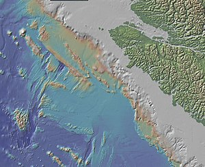Explorer Plate - A Bathymetric Profile of the Explorer Plate Region.