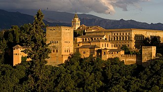 Muhammad I of Granada - Upon entering Granada, Muhammad started the construction of the Alhambra (pictured).