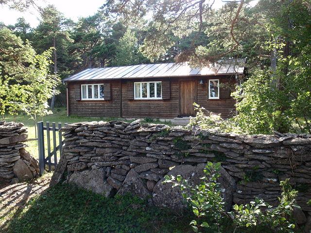 Дом Ингмара Бергмана на острове Форё.