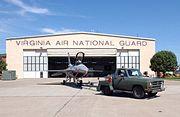 F-16C Virginia ANG at Langley AFB 2003