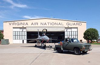 192nd Fighter Wing - A Virginia ANG F-16C, 2003