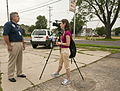 FEMA - 44920 - FEMA representative being interviewed by Fox news in Illinois.jpg