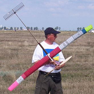 Free flight (model aircraft) - F1B Model by Stepan Stepanchuk