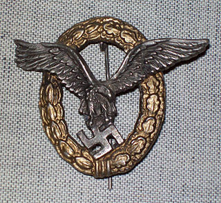 Pilot/Observer Badge Nazi German award